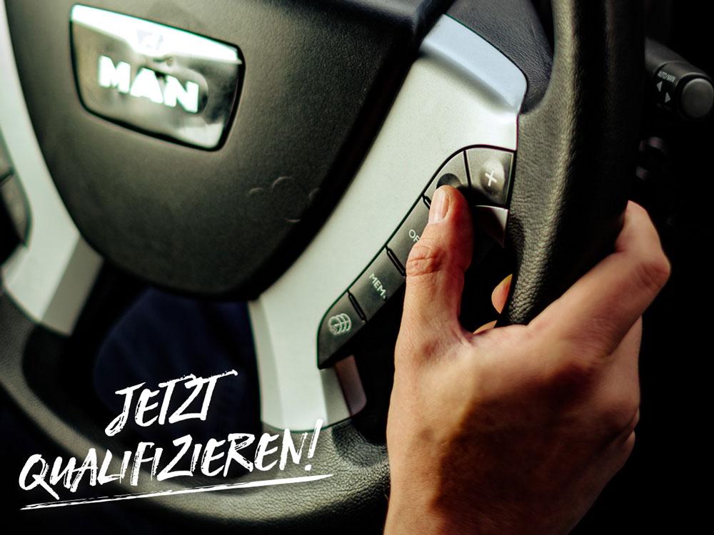 Führerschein kostenlos Berufskraftfahrer Weiterbildung LEWA